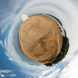 East Point Park Tiny Planet