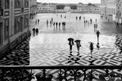 Rainy Day at Versailles