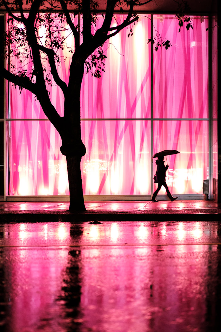 Pink Silhouette
