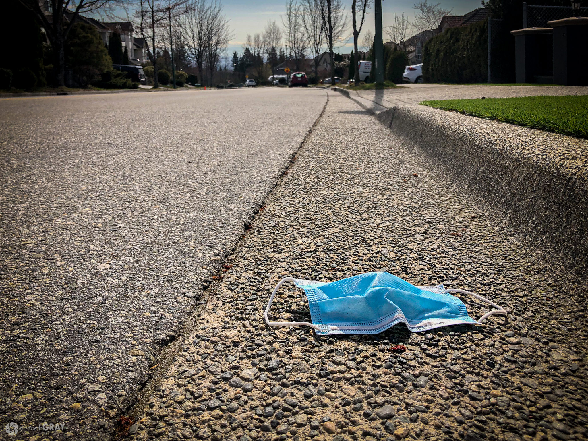 Discarded Surgical Mask