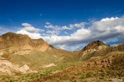 Big Bend Desert and Chisos Mountains