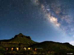Milky Way Over Homer Wilson Ranch