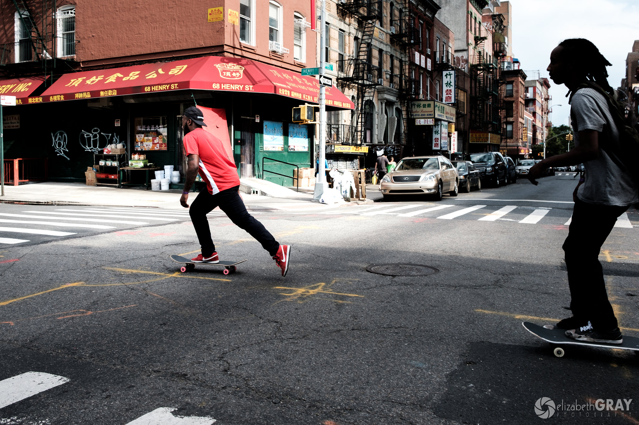 Chinatown Skateboarders
