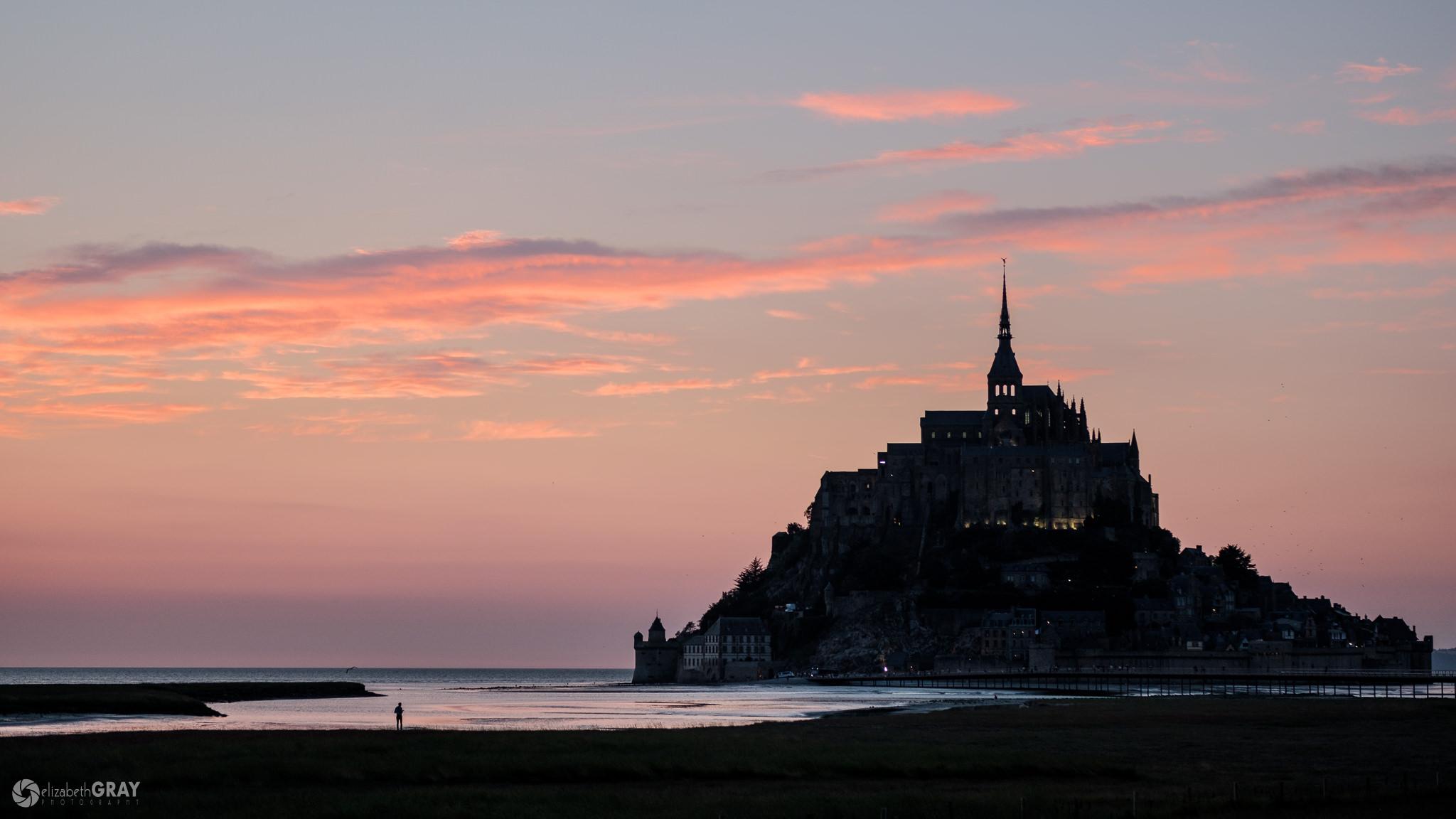 Mont Saint-Michel Silhouette