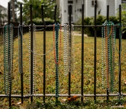 Beads on the Fence