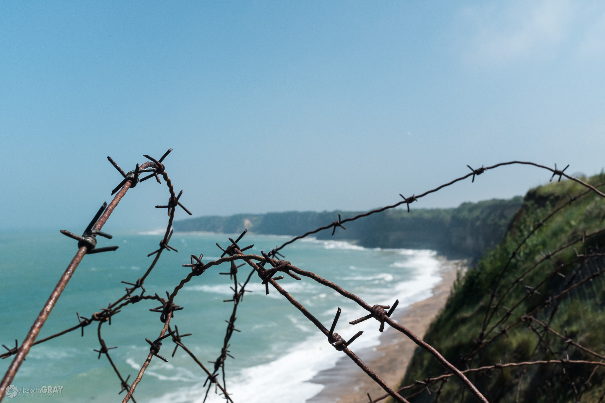 Pointe du Hoc Barbed Wire