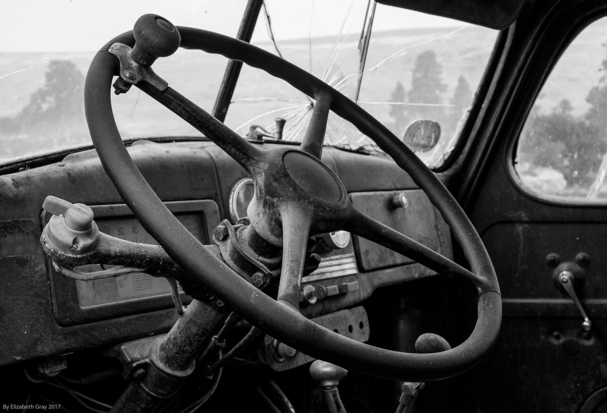 Old Steering Wheel