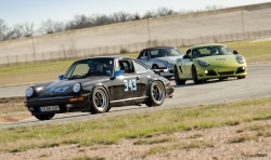 1987 Porsche 911 Carrera, 2012 Porsche Cayman R, 2010 Porsche Boxster