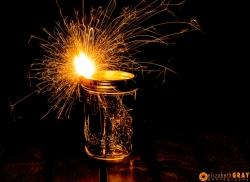 Mason Jar Sparkler