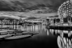 Coal Harbour Black and White