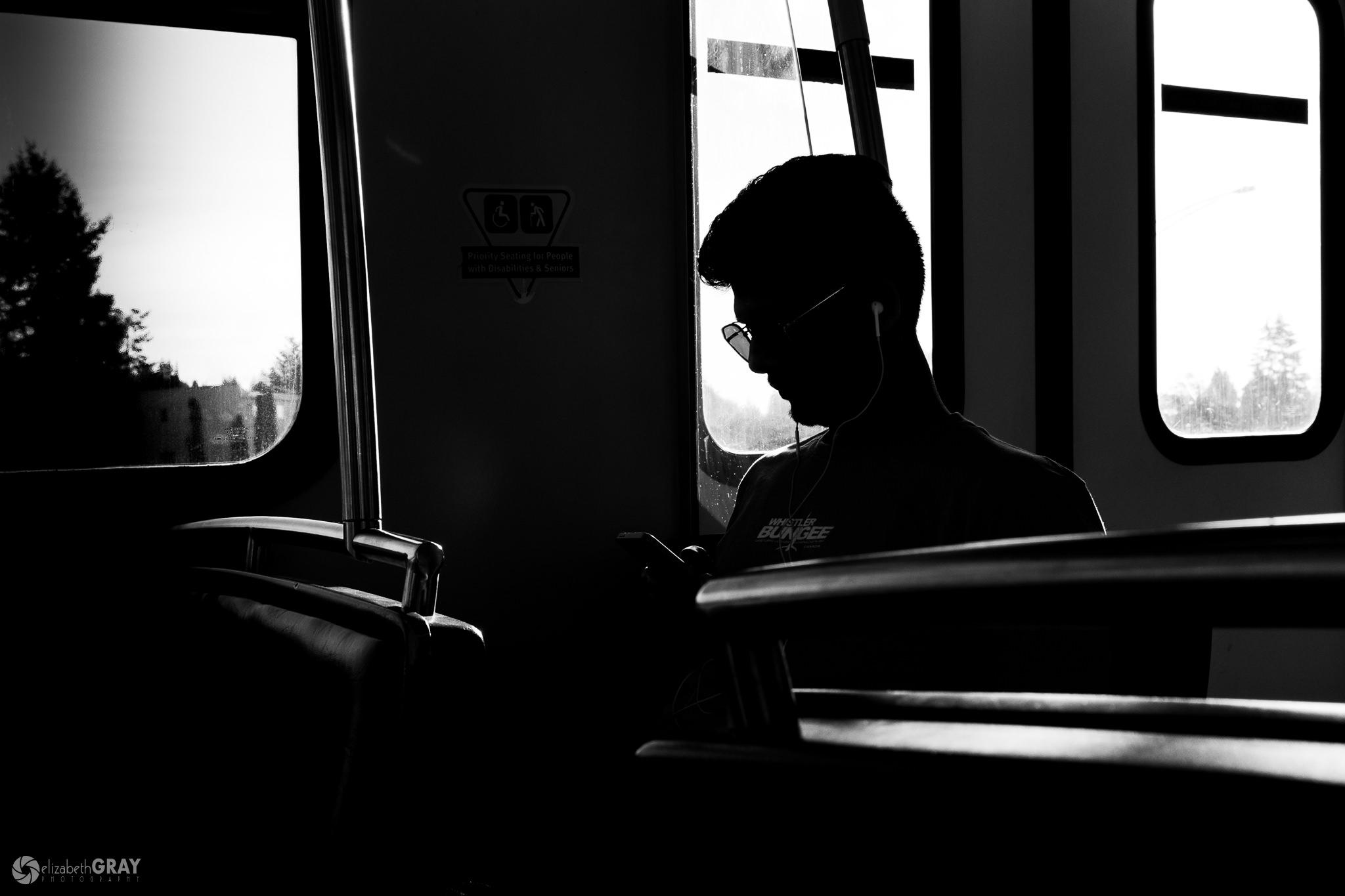 Sunglasses on the Train